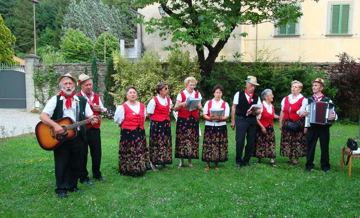 I maggiaioli di Povlò - Marradi